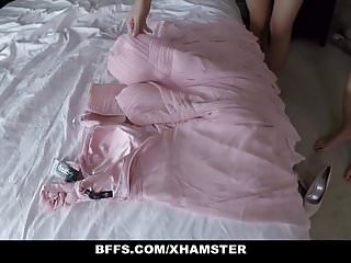 Teen wedding sex Bffs - one quick orgy before wedding