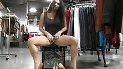 Flashing in the mall