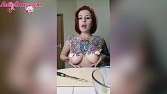 Sexy Passion Naked Prepares Banana Yum - Fetish