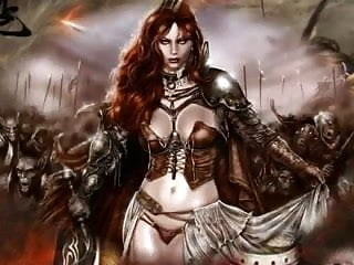 Free fantasy sexy art Magical fantasy art - celtic female warriors