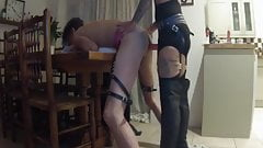Pegging after dinner