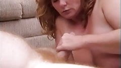 Mindy Jo Sucking Cock On Sideways