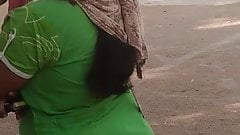 Desi hot babe huge ass captured at ration shop part 1