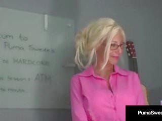 Puma mature fantasies Blonde amazon puma swede gives alicia alighatti atm class