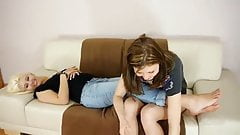 German Lesbians Foot Worship Part 2