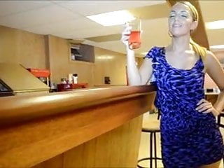 Blonde blow job thick Perfect blow job in bar