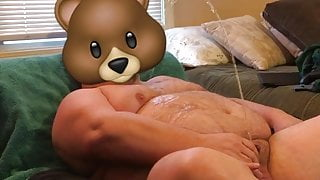 Pissing on my belly