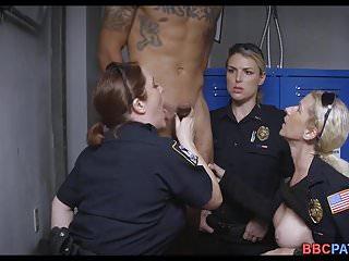 Black cum female 3 female officers team up