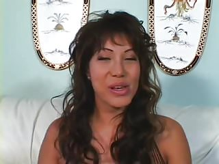Cum shots in her pussy - Sucks, fucks, and takes cum shots into her eyes.