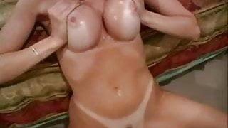 Racquel Devonshire - blowjob, titfuck and masturbation