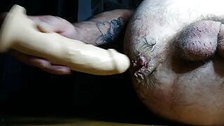 special horny day: 4, late night enlarge squirt and moan