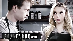 PURE TABOO – Lily Larimar Almost Caught Fucking in Public Cafe