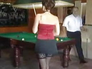 Porno pool games Game of pool takes a turn