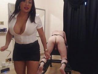 Femdom punishment movies Mistress caning punishment
