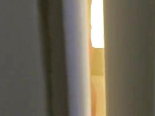 Teen girl caught nude video Door peeping mom caught nude