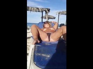 Older virginia beach milf - Beach milf plays with herself