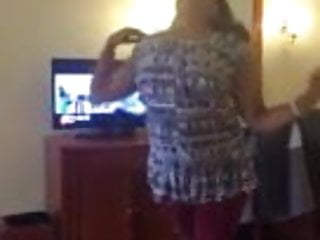 Hotel strips Desi girl strip, dance in hotel
