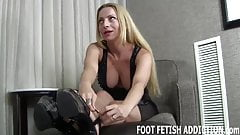 I have a special foot fetish treat for you