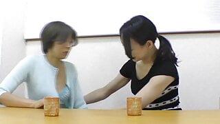 Japanese lewd stunners lesbian incredible