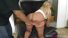 BLOND MILF banged by BBC