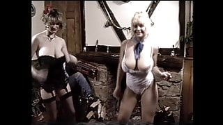 Debbie Quarrel and Louise Leeds vintage big boob dance