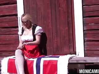 Sluts of norway - Monicamilf on 17th of may in norway - constitution day