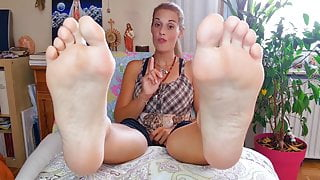 Nice Spiritual Feet