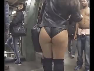 Union pussy - Profound candid latina ass at union square