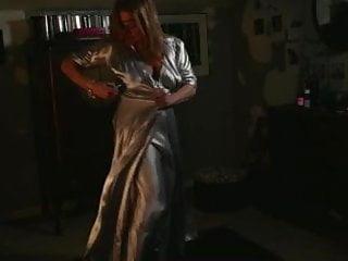 Erotic nightgown Satin robe nightgown