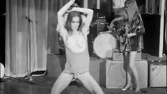 vintage nightclub striptease & topless gogo girl dance