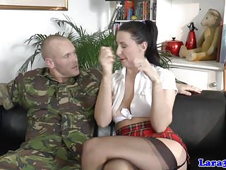 Brit anal Balgagged mature brit arse fucked by private