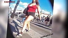 Ноги и ступни скрытой камерой 001