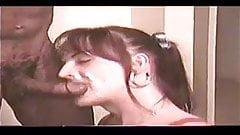Amateur Redhead Shemale Sucks Big Black Cock Tranny Porn 68
