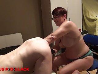 Bum boob or elbow Nurse sandra fists a slaves ass elbow deep
