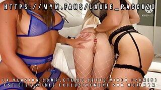 Ma premiere orgie lesbienne avec 3 salopes francaises !!