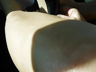 Teen masturbation how tos - Putting on my red peep toed and metal heels