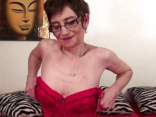 Skinny grannie sex Skinny grandma needs a big hard cock