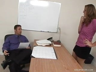Job interview sex blow - Job interview quickly turns into sex