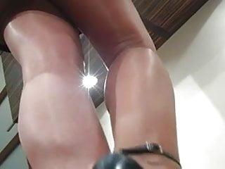 Shiny tgp - Shiny nylon feet