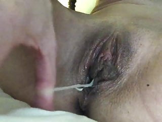 Wife pussy swollen - Slut slowly pulls huge beads from her swollen pussy