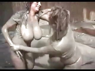 Mud sex video - Big tit mud wrestling requested