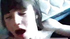 EmoTeenBoy boy blows a cute twink