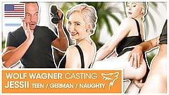 Jessii van Riva: Teen girl enjoys a cock! wolfwagner.casting