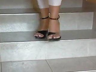 Sexy women in platform shoes Foot fetish, stilettos, platform shoes, high heels 19