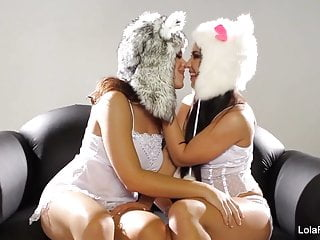 Lesbian furry game - Furry hat cuties lola natasha
