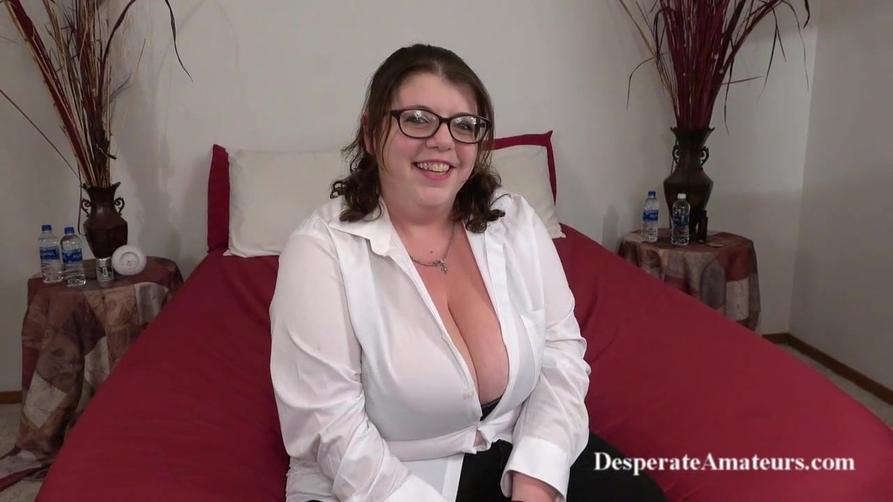 Big Tits Student Striptease