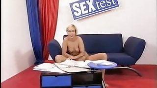 German shameless whore Carmen Herzog - Sex Test Private Line