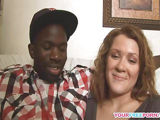 Free gag till your sick porn Horny interracial couple having fun time on the sofa.mp4