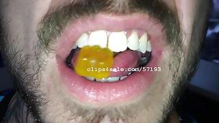 Vore Fetish - Jesse Eats Gummy Bears Video 1