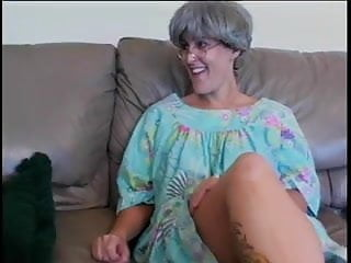 Nude gray haired ladies - Tatooed gray hair mature seduced by big bblack cock